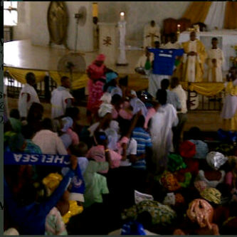 Chelsea FC Nigerian Fans Church 2012 European Champions League Victory 'Thanksgiving' service today!